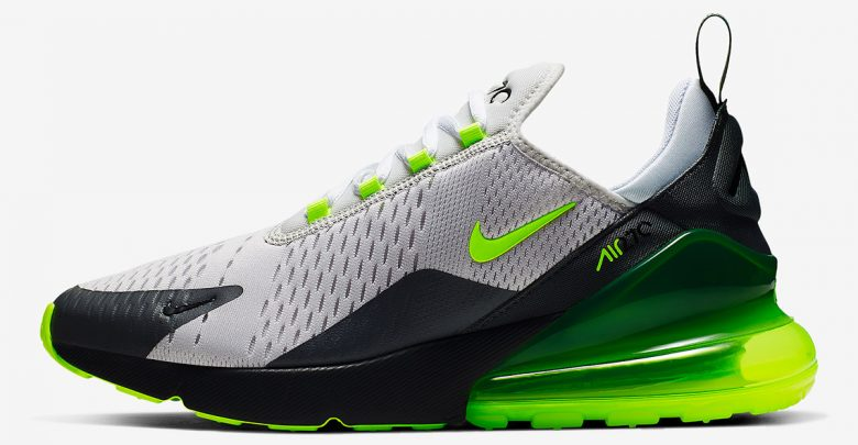 best sneakers d6fa8 2a413 The Nike Air Max 270 Emerges In The Iconic Neon Colorway ...