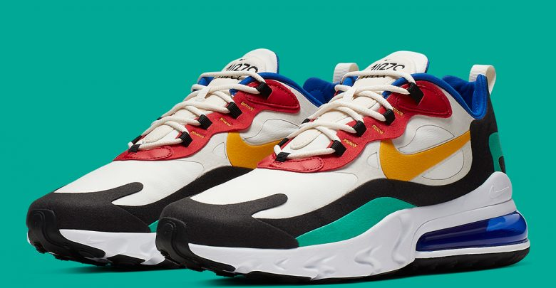 """online retailer cb8e2 45e05 The place To Purchase The Nike Air Max 270 React """"Bauhaus ..."""