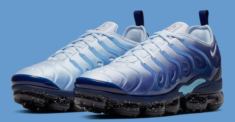 buy popular a5472 075b3 Upcoming Nike Vapormax Plus Adapts A Blizzard Colorway ...
